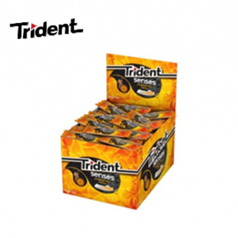 TRIDENT SENSES TROPICAL MIX C/100 UN