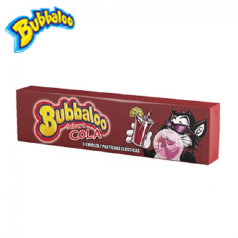 BUBBALOO STICK COLA 18 UN